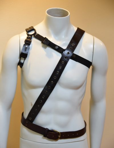 Ash Evil Dead TV series harness