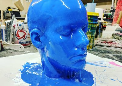 Head lifecast